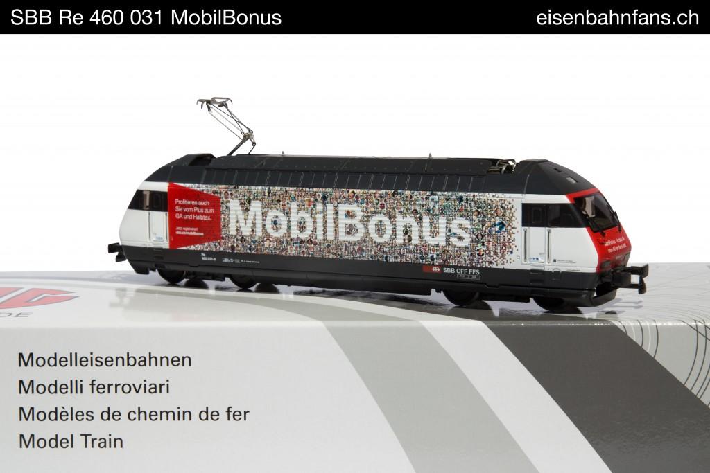 Die Re 460 MobilBonus ist bilingue: Hier die deutsche...
